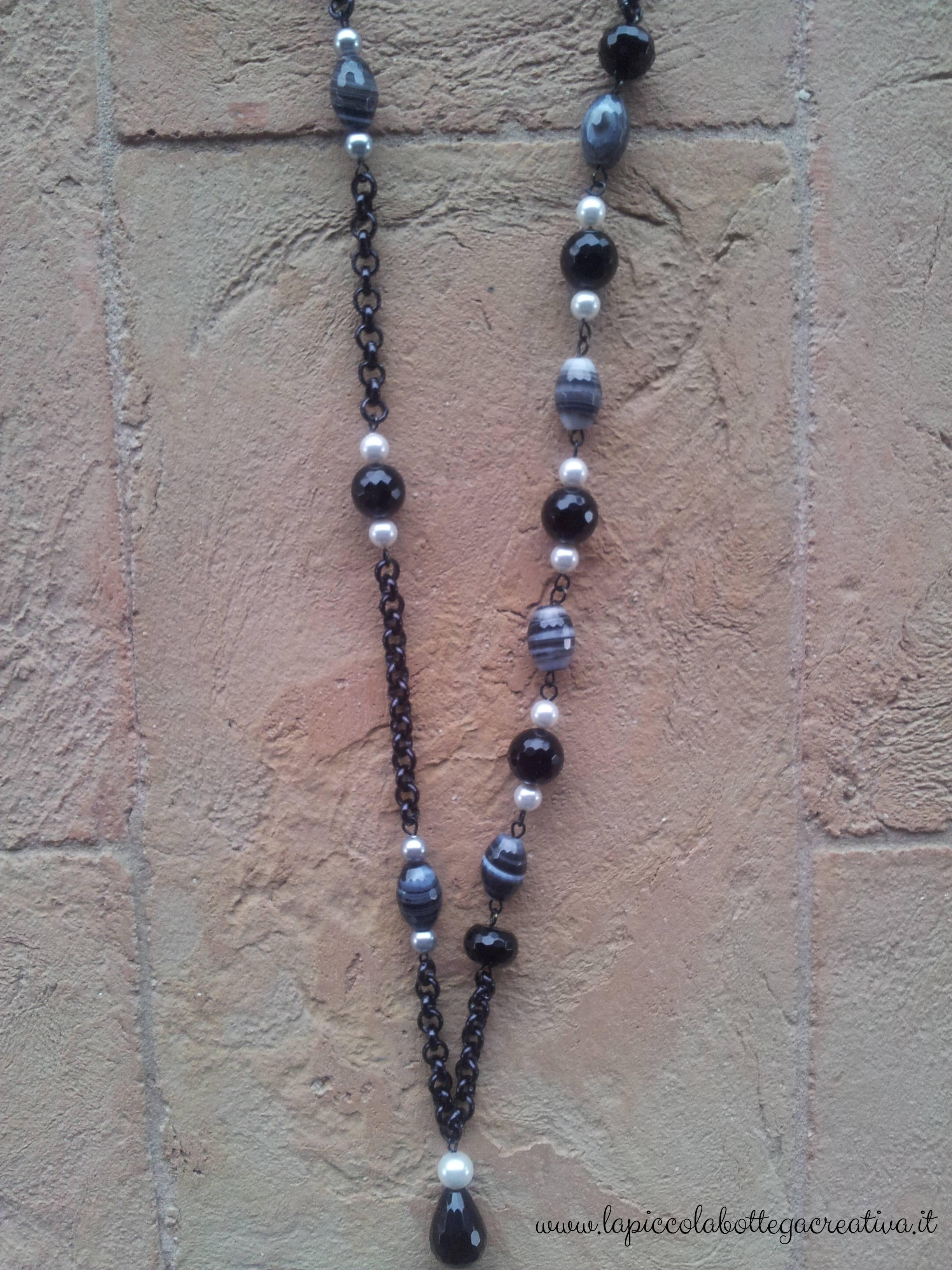 collana-pietre-dure-e-perle-grigia-e-nera-dettaglio