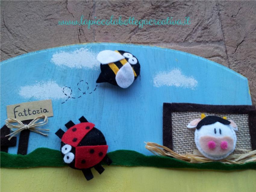appendiabiti per bambini - la piccola bottega creativa