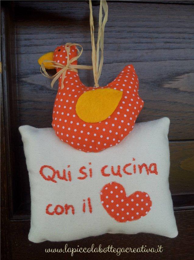 decorazione-cucina-cotone-arancio