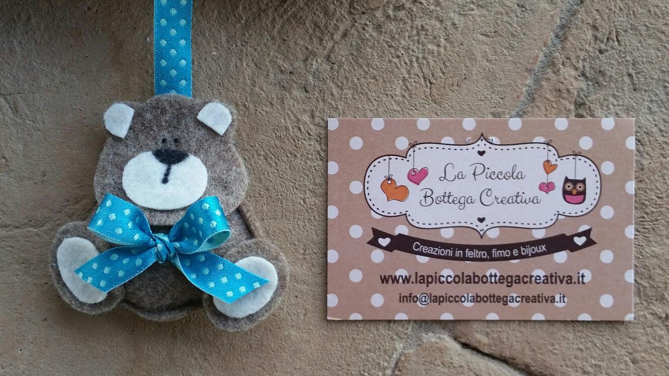 Eccezionale Fiocco nascita nuvoletta - La piccola bottega creativa RP43