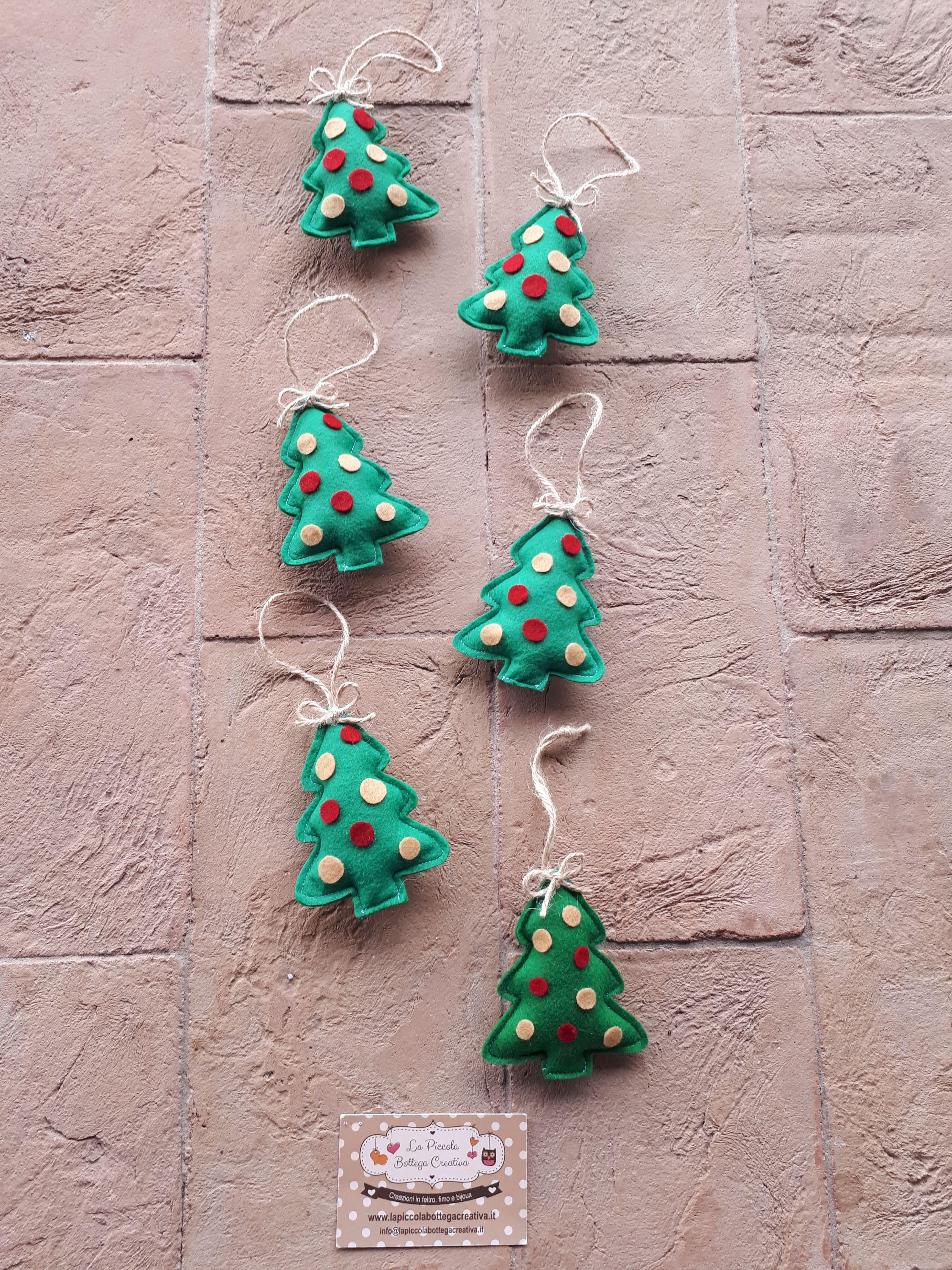 Bomboniere alberi di Natale