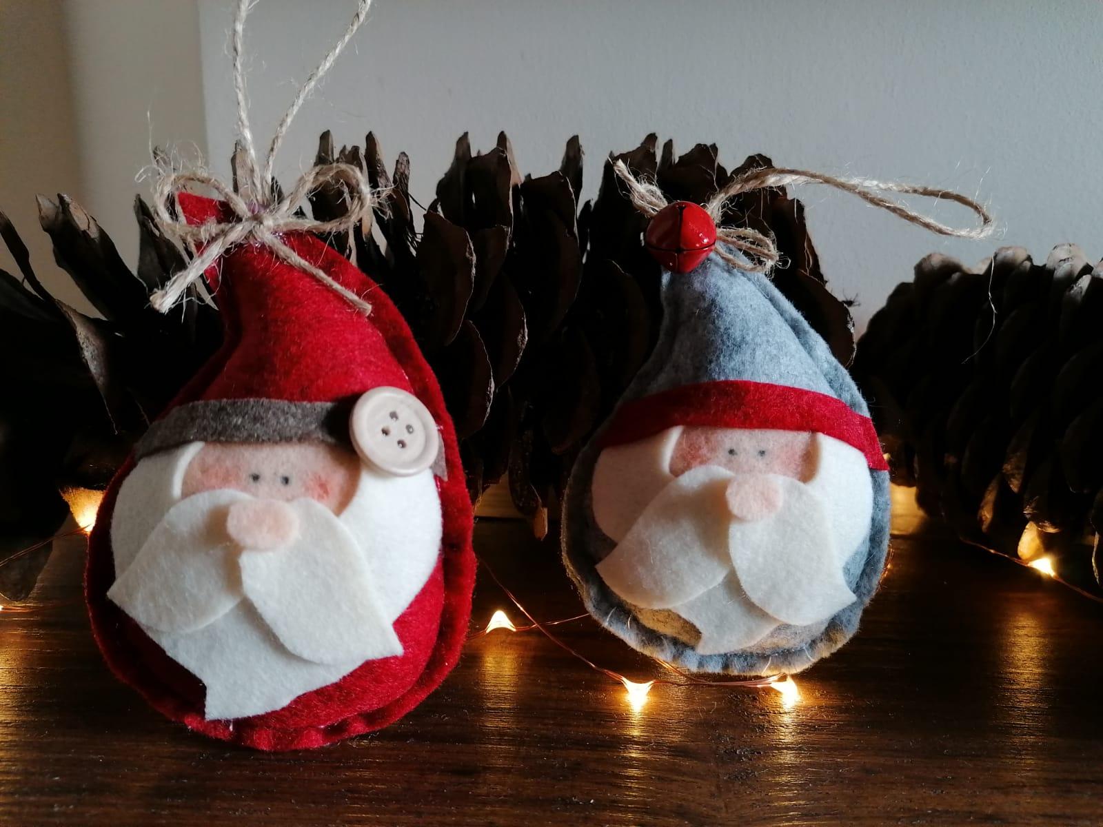 Pannolenci Lavoretti Di Natale.Decorazioni Natalizie In Feltro Pannolenci E Fimo